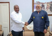 I haven't endorsed any NDC flagbearer aspirant – Rawlings