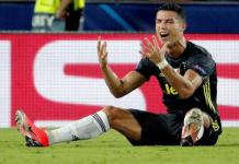 Ronaldo weeps after Juventus red card