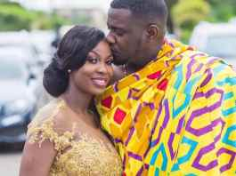 Dumelo and wife Gifty welcome baby boy
