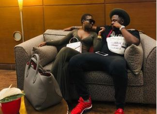Medikal has officially declared his undying love for Fella Makafui