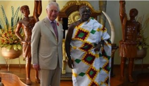 Otumfuo hosts Prince Charles to special Akwasidae