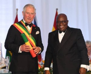 Akufo-Addo confers highest national award on Prince Charles