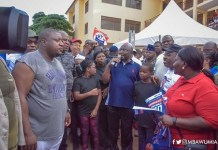 Bawumia campaigns for Agyarko's wife
