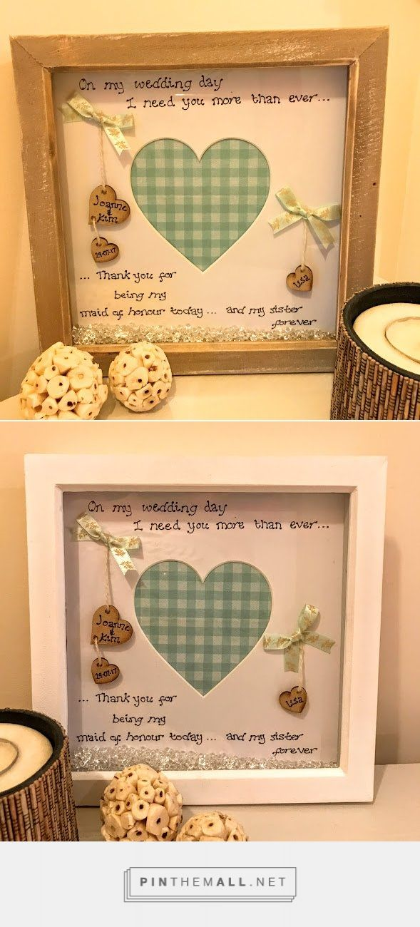 Personalised Maid Of Honour Gifts Midway Media