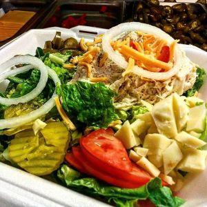 Garden Salad Gino's Deli