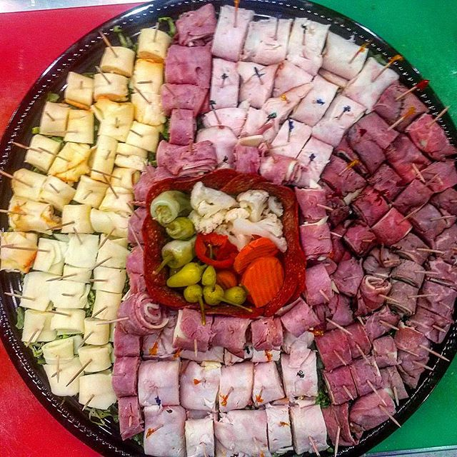 Meat and Cheese Tray, Catering by Gino's Deli
