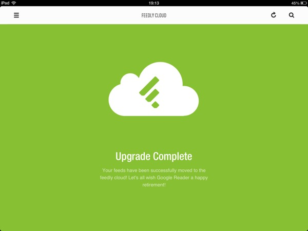feedly google reader