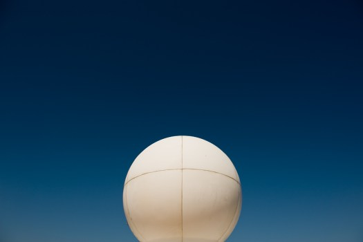 sphere and sky