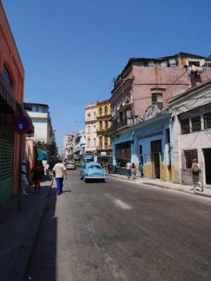 Quartier populaire de La Havane