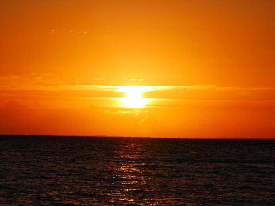 Lever de soleil fin !