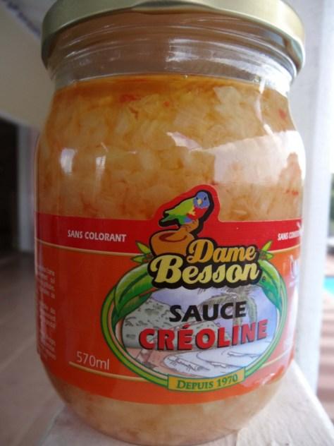 Sauce créoline