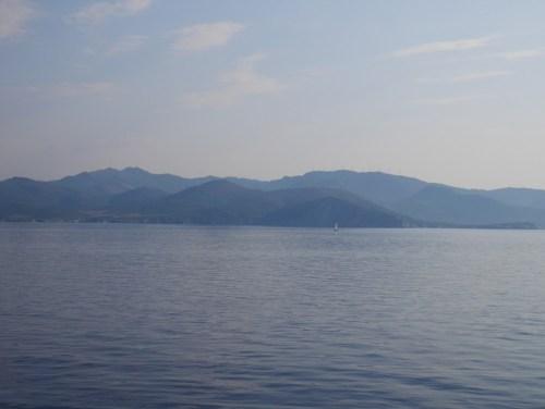 Silhouette de la Corse