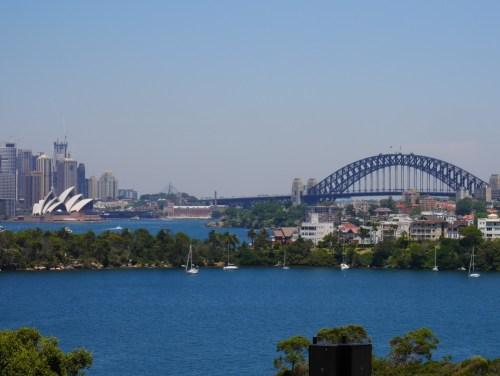 Vue sur Sydney du zoo Taronga