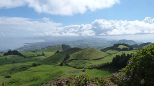 L'île de São Miguel aux Açores