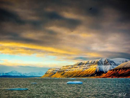 Templefjorden –Svalbard en automne