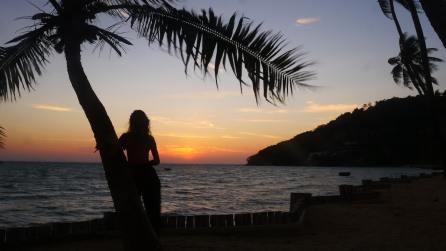 Lever de soleil sur Loh Ba Kao