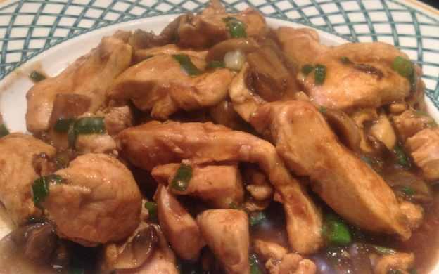 gf chicken with osyter sauce