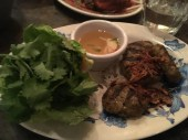 Bun Thit Nuong - chargrilled pork patties