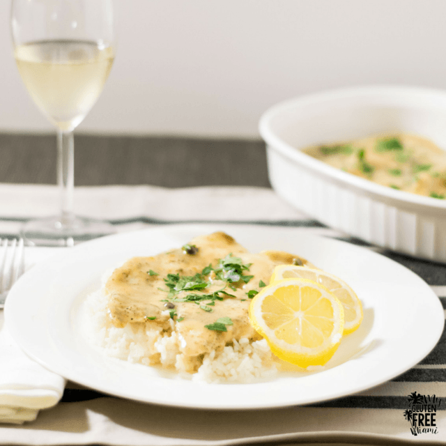 Gluten Free Chicken Piccata with Lemon and Capers