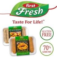 First Fresh Chicken Sausage