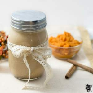 Homemade Pumpkin Spice Coffee Creamer | https://myglutenfreemiami.com