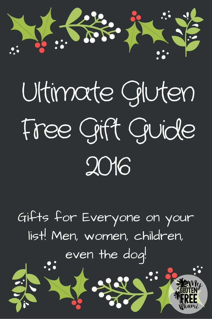 gluten free gift guide 2016