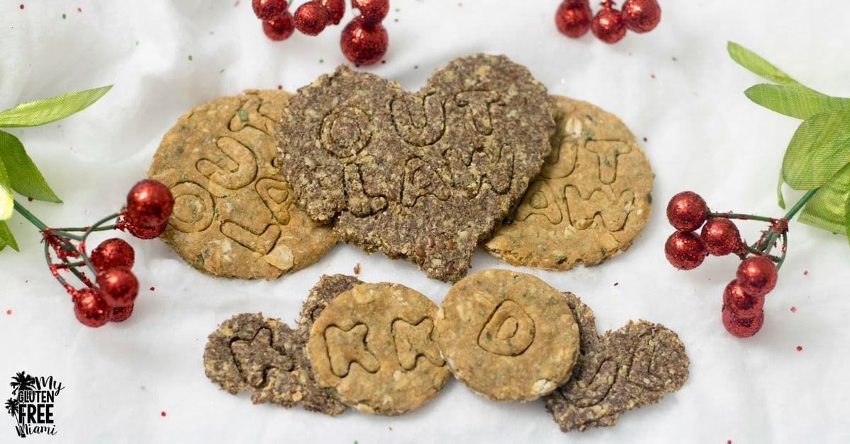 Gluten Free Dog Treats from Backyard Dog Treats