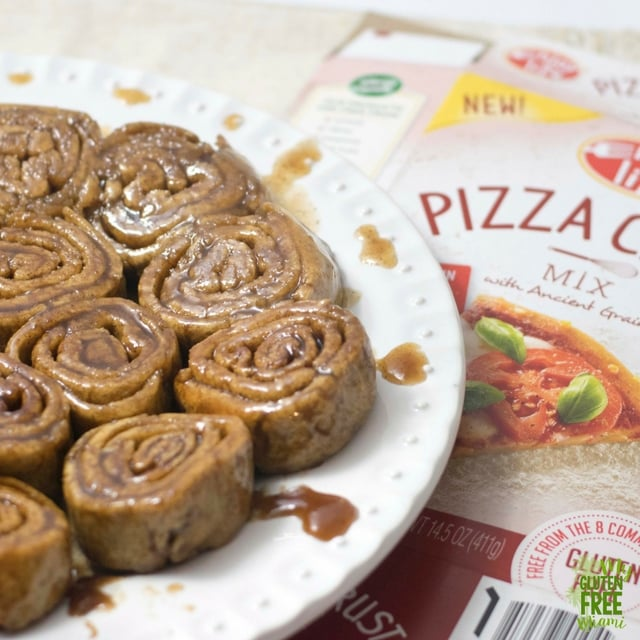 Gooey Cinnamon Rolls- Top 8 Allergen Free