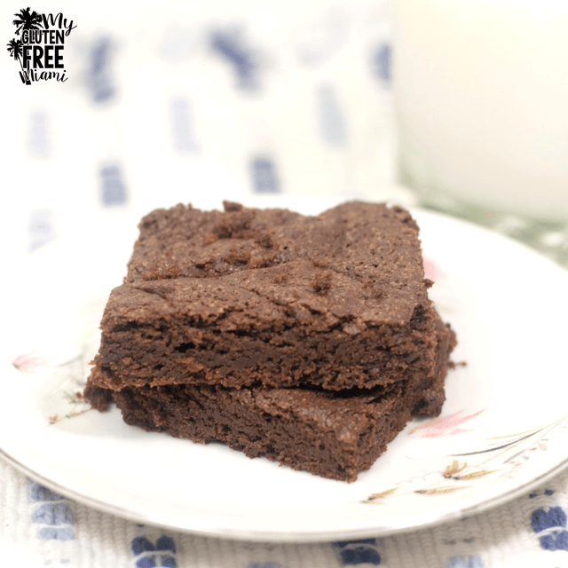 Easy Gluten Free Brownies {Dairy Free}