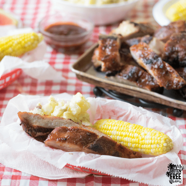 Easy Grilled Gluten Free Ribs with a Sweet and Spicy Dry Rub