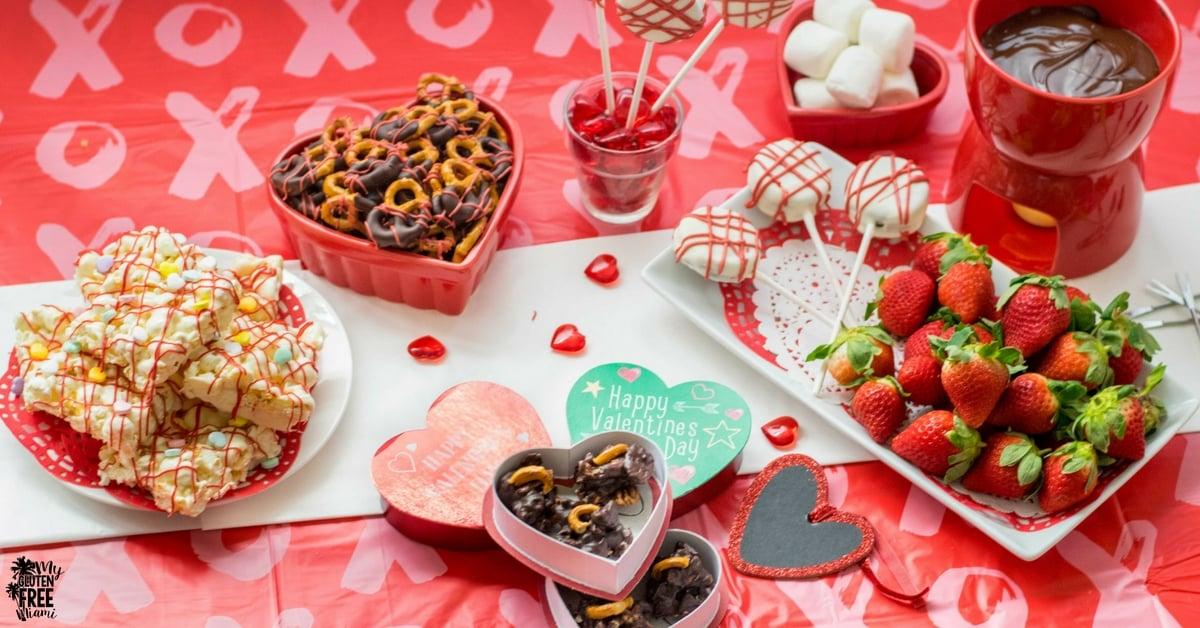 Gluten Free Valentine's Day Party