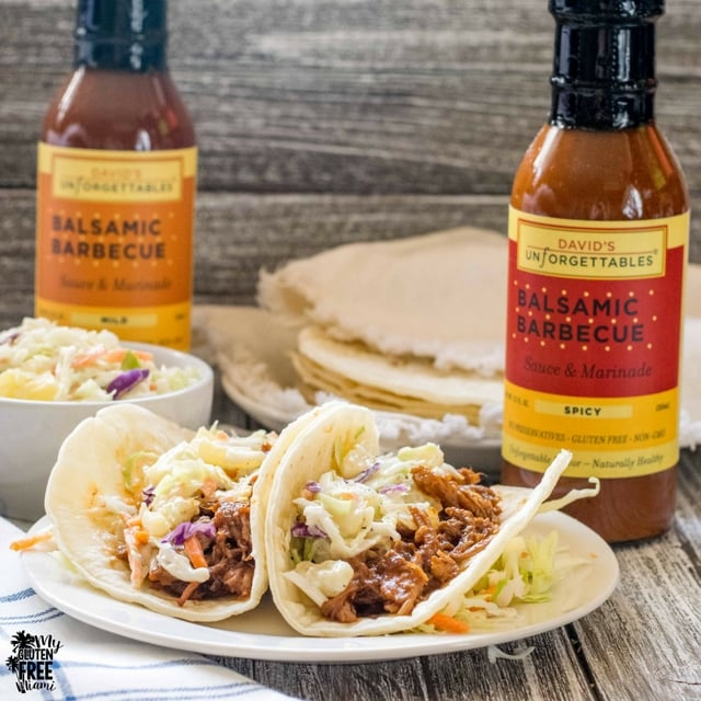 BBQ Pork Tacos with Davids Unforgettable Suace