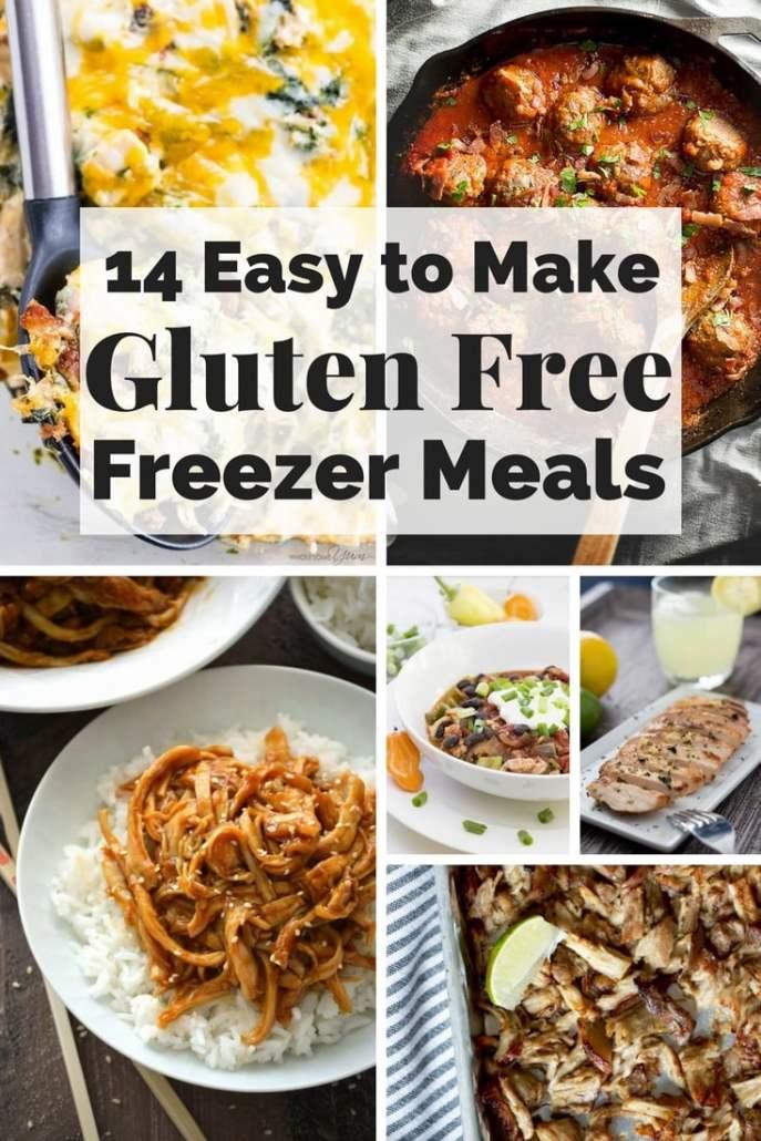 gluten free freezer meals