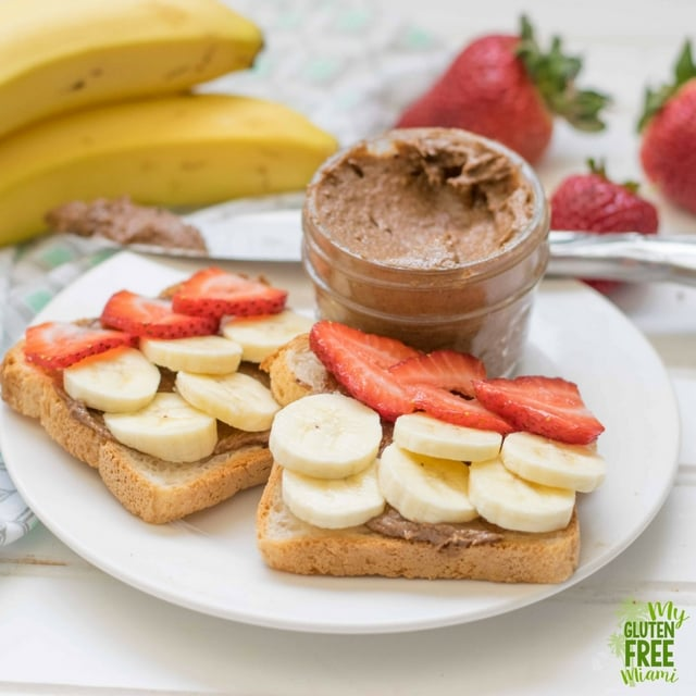 Gluten Free Cookie Butter with Toast