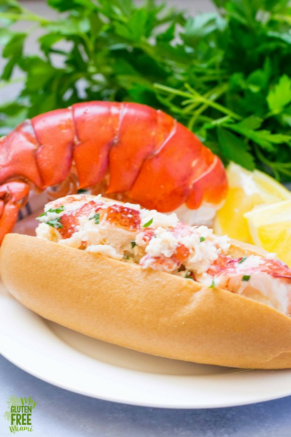 gluten free lobster roll