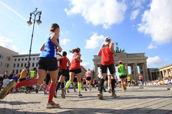 Berlin geschafft! Trainingsplan Marathon unter 4 Stunden