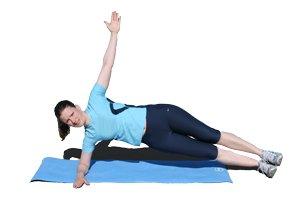 Seitstütz und Körperspannung