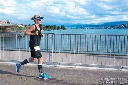 Sightrunning - beim abschließenden Marathon in Zürich