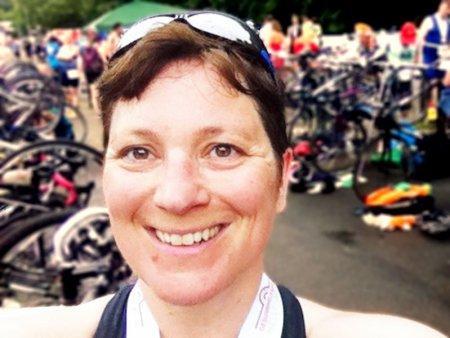Irene beim Triathlon