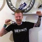 Jan, Ironman Finisher