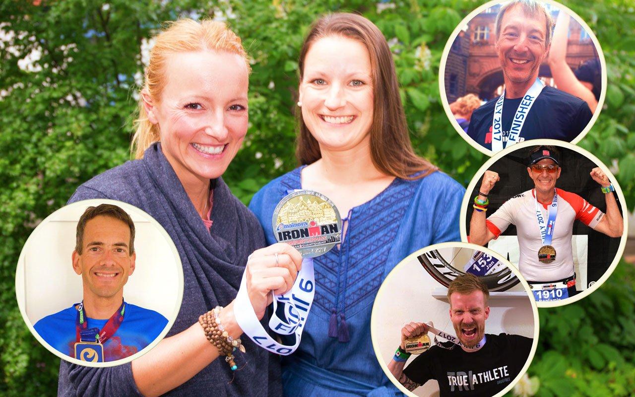 Unsere Ironman Finisher und Trainerin Anke