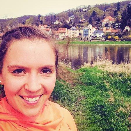 Christina, Läuferin aus Schwäbisch Hall