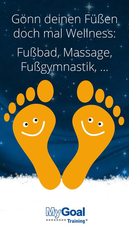 13. Türchen: Wellness für die Füße | MyGoal Training