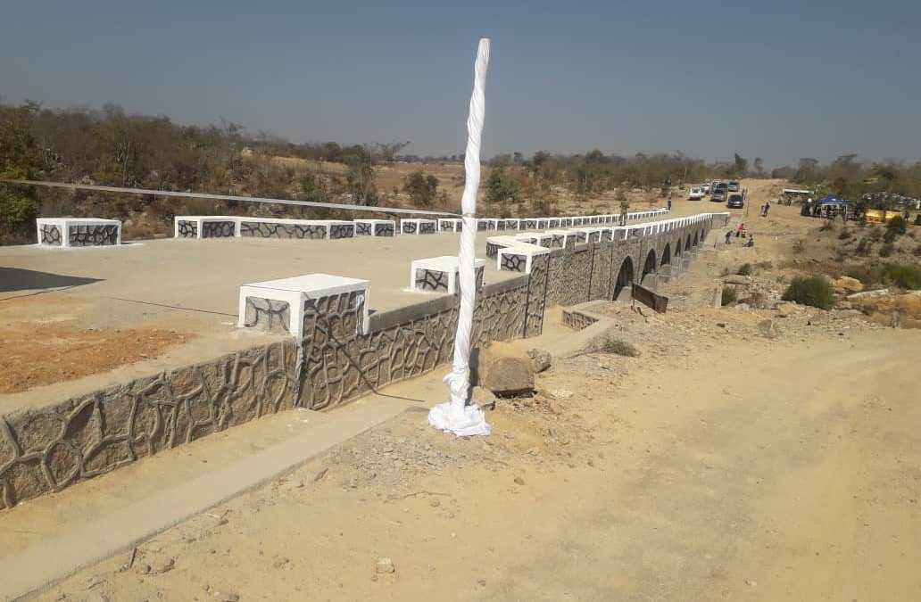 VP Muhadi Commissions the Nyamatikiti Bridge