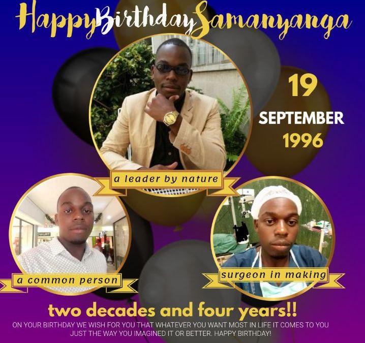 Mr Tapera Makosa Celebrates His Birthday