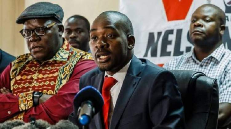Chamisa's MDC Alliance Cleared of Financial Indecency