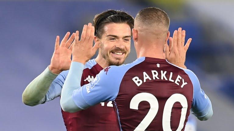 WATCH! Barkley's Late Strike Help Aston Villa Kill Two Birds with One Stone