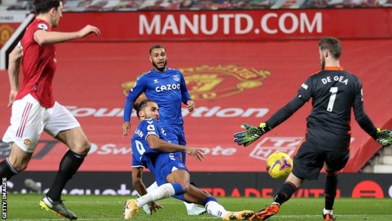 Calvert-Lewin Denies Man United Three Points