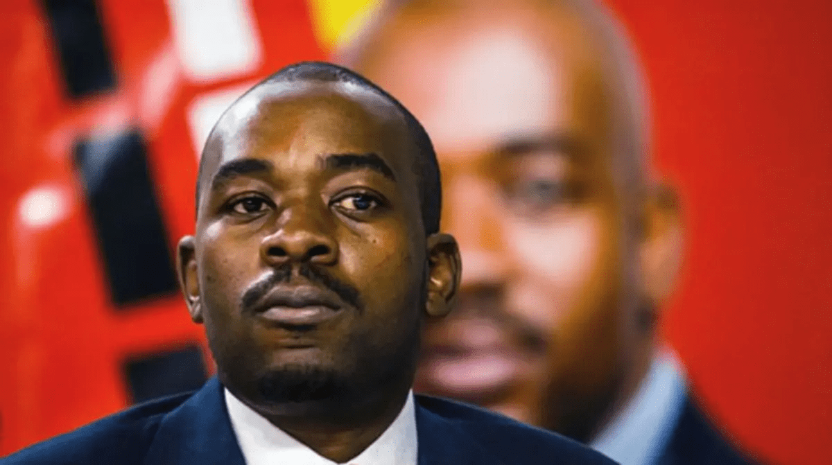 The Situation is Very Dire: Chamisa