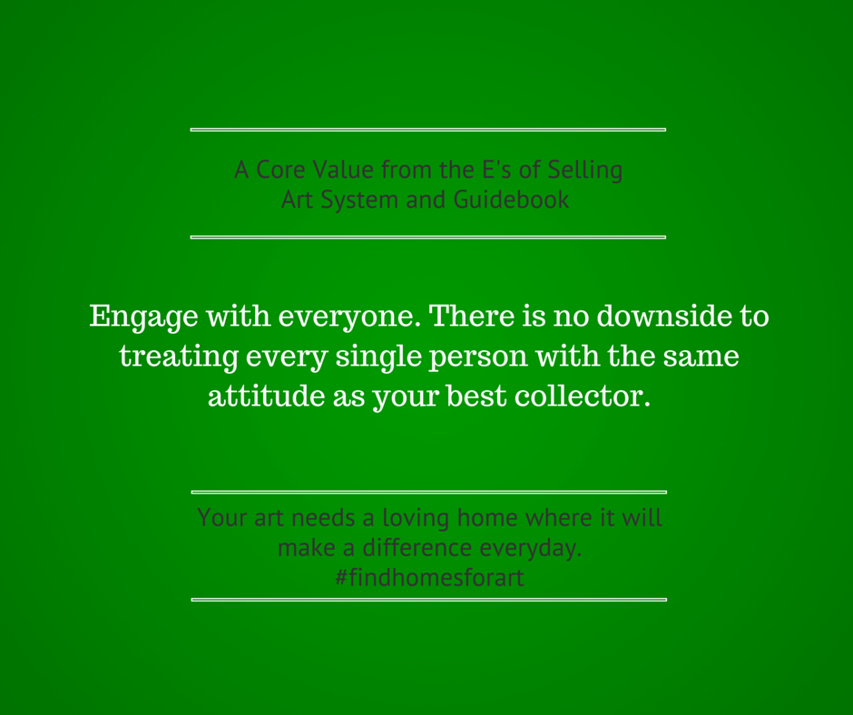 Engage with everyone